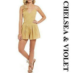 🆕 Chelsea & Violet Heart Dot Printed Romper